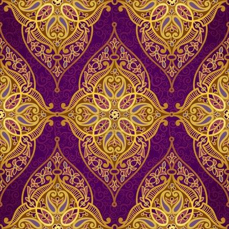 Seamless pattern in Eastern style.