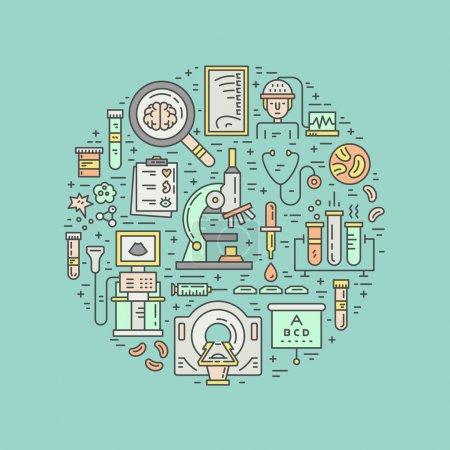 Medical diagnostic concept