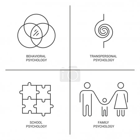Psychology Logo icons