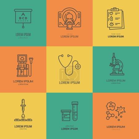 Medical Labels illustration