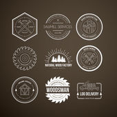 vintage carpentry logotypes