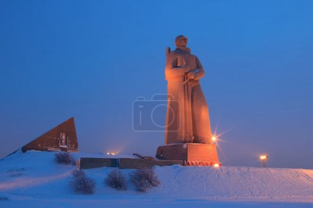 Monument Defenders of the Soviet Arctic during the...