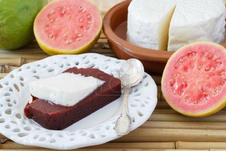 Brazilian dessert Romeo and Juliet