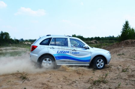 New Lifan X60 at the