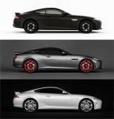 Set very fast sport car