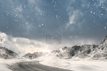 Winter Driving - Winter Road