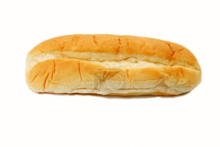 Photo for A Fresh Loaf of Italian Bread on White - Royalty Free Image
