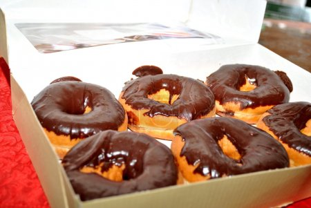 Photo for 6 Pack of Donuts - Royalty Free Image