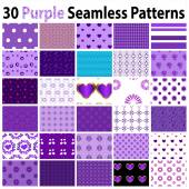 30 Blue Seamless Patterns