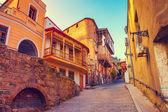 Stará čtvrť v Tbilisi