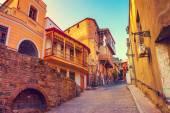 Old quarter in Tbilisi