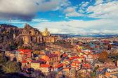 Panoramablick von Tiflis