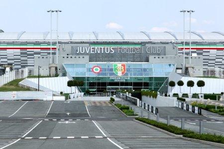 View of the Juventus stadium