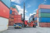 Jeřáb zvedák zpracování naložení kontejneru box Truck