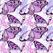 Seamless butterfly wing pattern