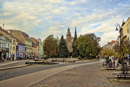 The second biggest city in Slovakia, Kosice....