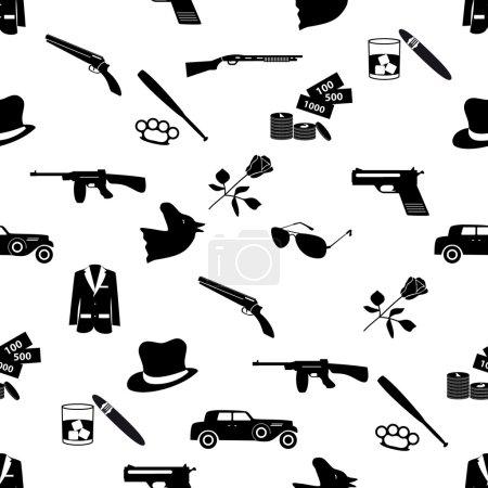 уголовная мафия черные символы и