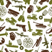 military theme colors icons seamless pattern eps10