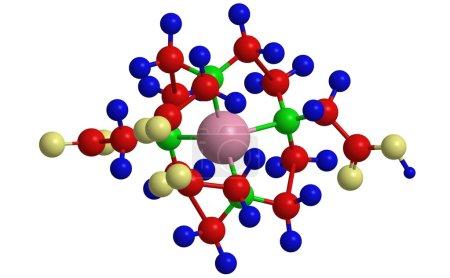 Молекулярная структура гадолиния Gadoteric
