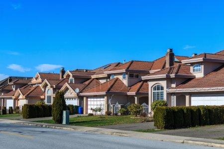 Photo pour Maisons modernes à Richmond, Colombie-Britannique, Canada . - image libre de droit