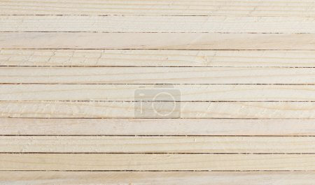 Photo for White wood background, Horizontal line. - Royalty Free Image