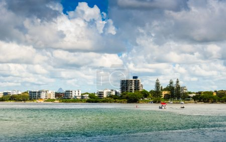 Shoreline In Caloundra
