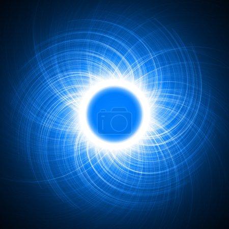 energy ring.(cross lines version)
