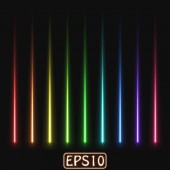 laser rays