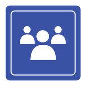 Lidé ikona pro každé použití. Vektorové Eps10