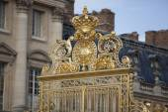 Krásná brána palác Versailles podrobné plot u Paříže
