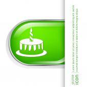 Narozeninový dort ikona