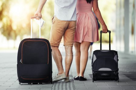 Photo for Love couple ready for a holiday. - Royalty Free Image