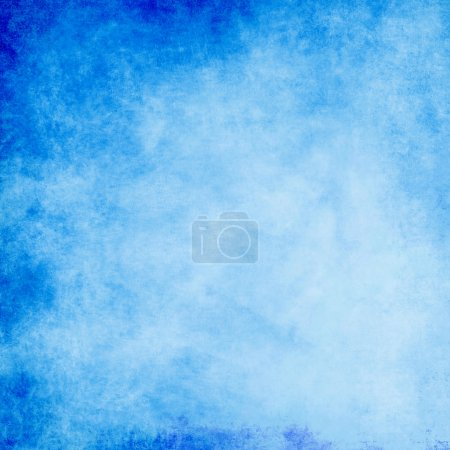 Abstract blue paint background