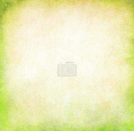 Photo pour Fond vert grunge. texture verte abstraite avec espace pour le texte - image libre de droit