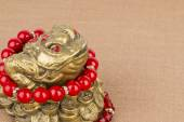 Beads jewelry and money frog.