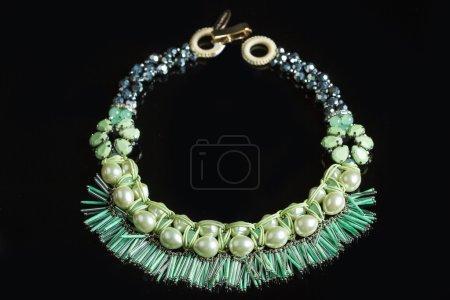 Color plastic  necklace