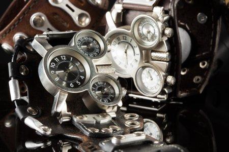 unusual watches. several alternatives dials