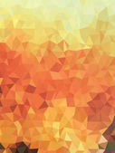 Abstract triangles with earth tone color background