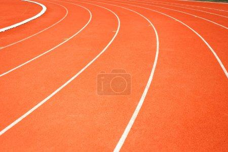 Running track for athletics