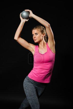 Beautiful sport woman