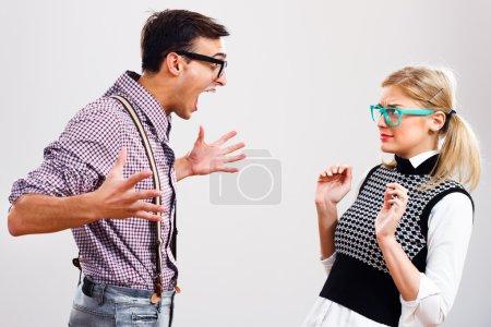 couple having conflict