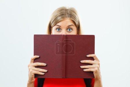 shocked student girl