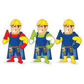 Superhero construction guy