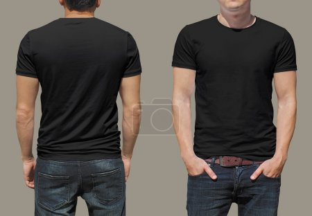 Photo for T-shirt template - Royalty Free Image