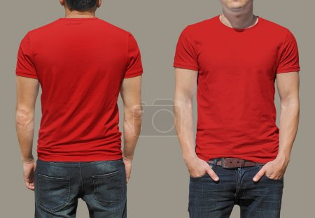 Photo for Male t-shirt background for your design - Royalty Free Image