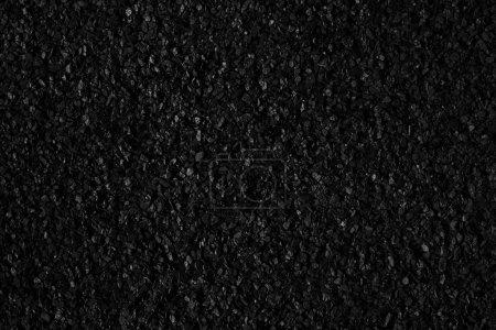 Photo pour Asphalte noir texture granuleuse - image libre de droit