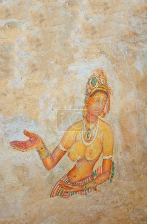 5th Century Sigiriya Rock Cave