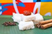 Kiribath, The milk rice is a traditional Sri Lankan food