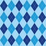Argyle basic seamless texture blue rhombus...