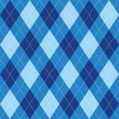 Argyle basic seamless texture blue rhombus